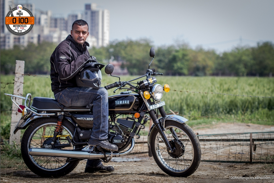 We sincerely thank Shivanshu Singh for letting us ride his beloved RX100