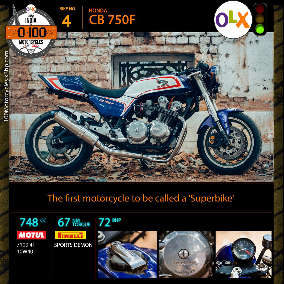 Honda CB750F Specifications