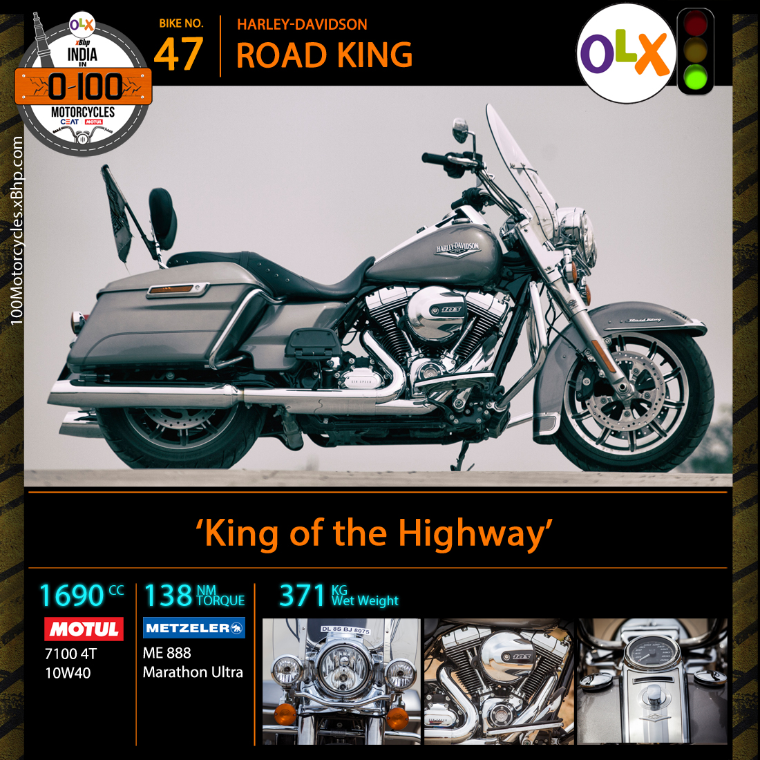 Harley Davidson Road King 06