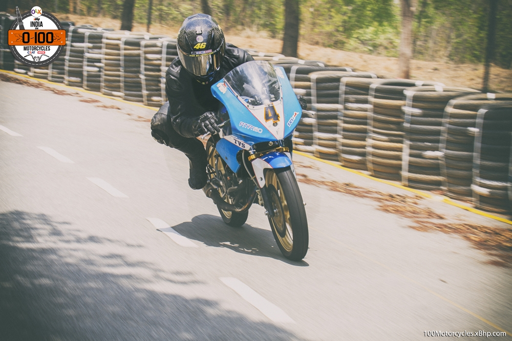 TVS RTR 160 Road Racing (1)
