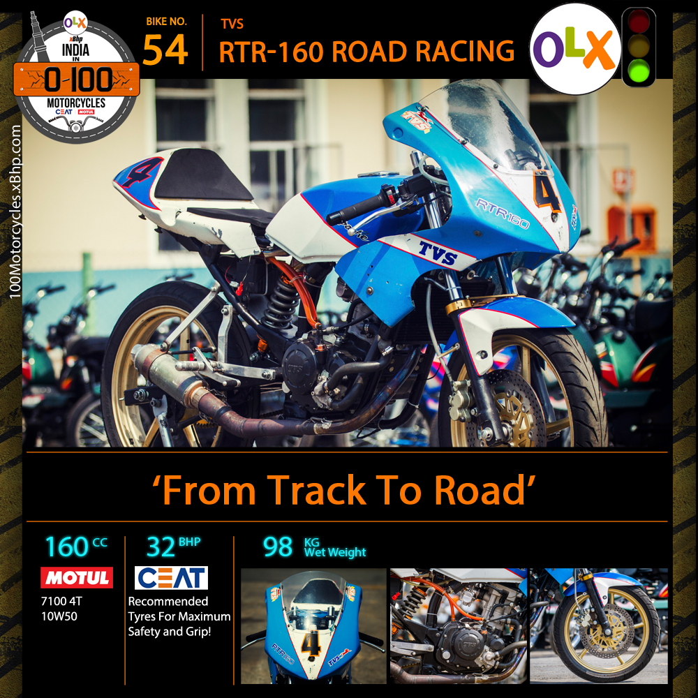TVS RTR160 Road Racing (3)