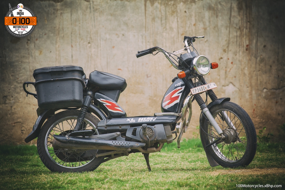 TVS XL Super Moped 14