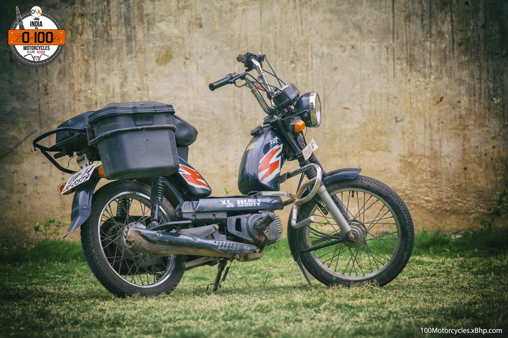 TVS XL Super Moped 9