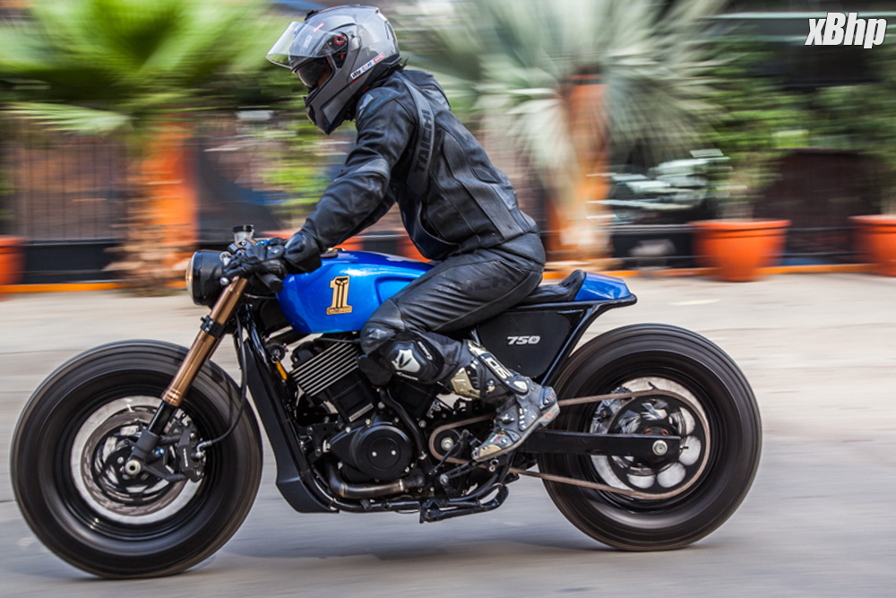 Bike #84: Rajputana Customs HD Street 750 - From a Roadster