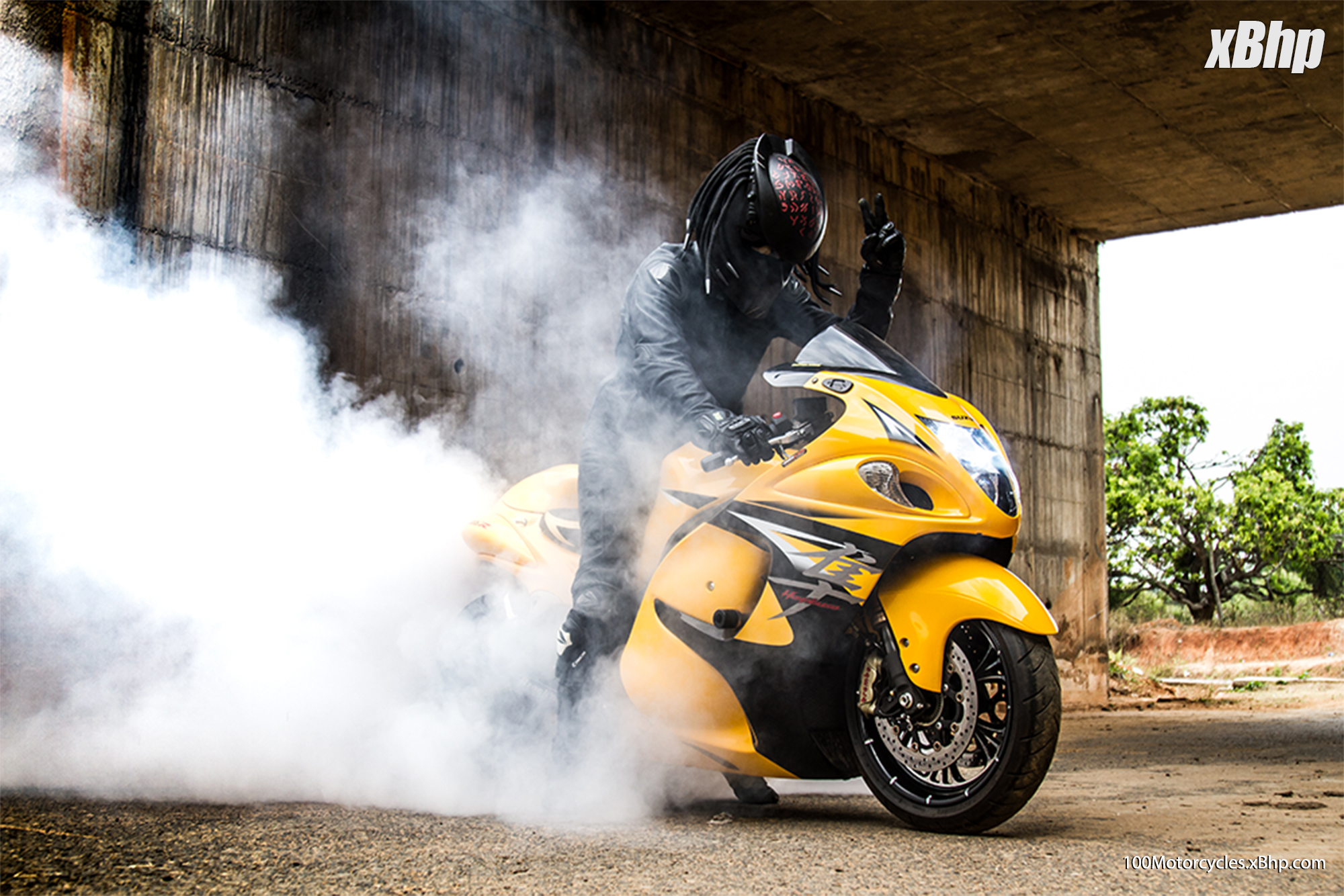 bike #92: transformers hayabusa - living machines! - 'olx and xbhp