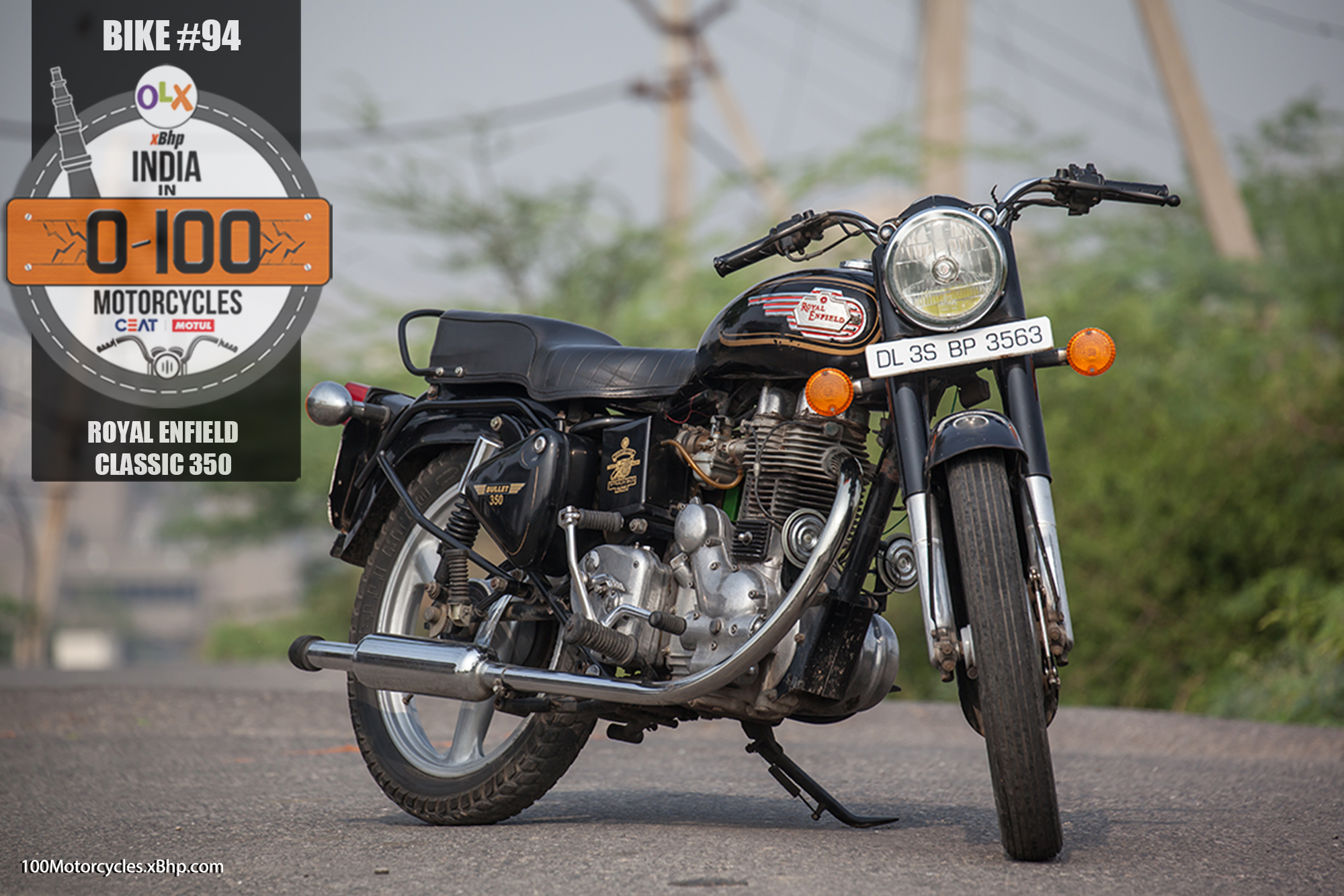 Bike #94: Royal Enfield Bullet Cast Iron - Thumping away into
