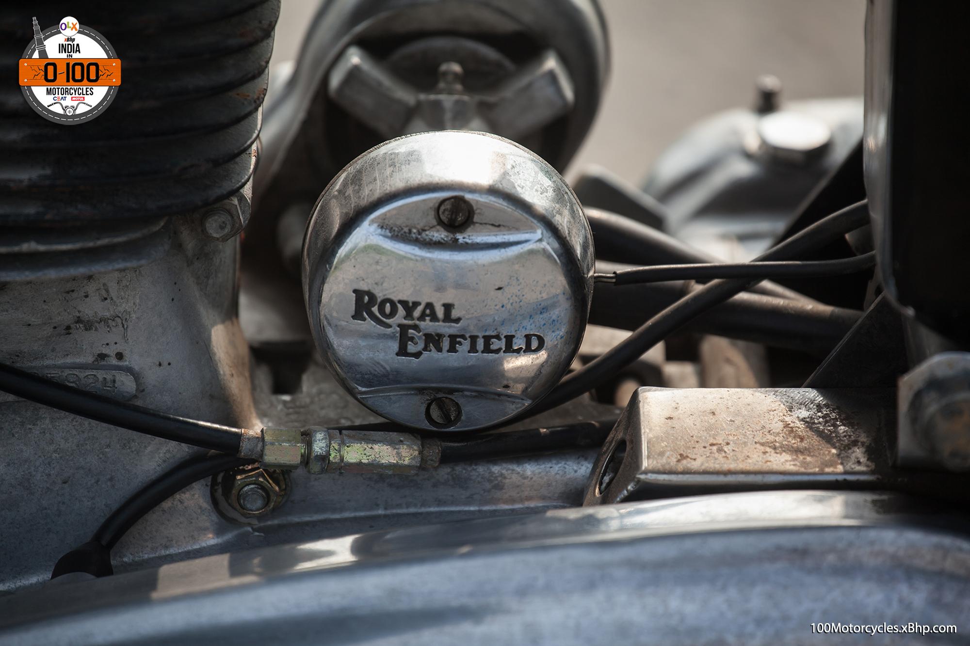 Bike #94: Royal Enfield Bullet Cast Iron - Thumping away