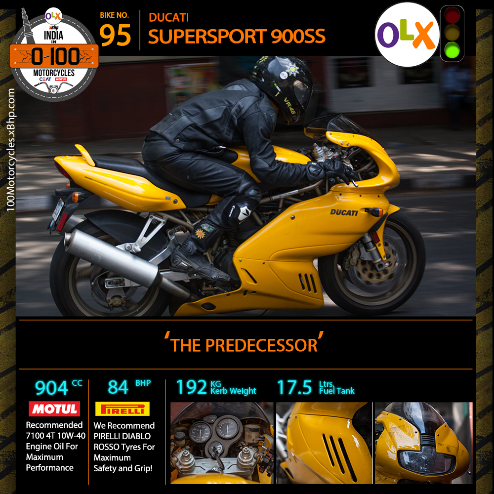 spec DUCATI SUPERSPORT 900SS