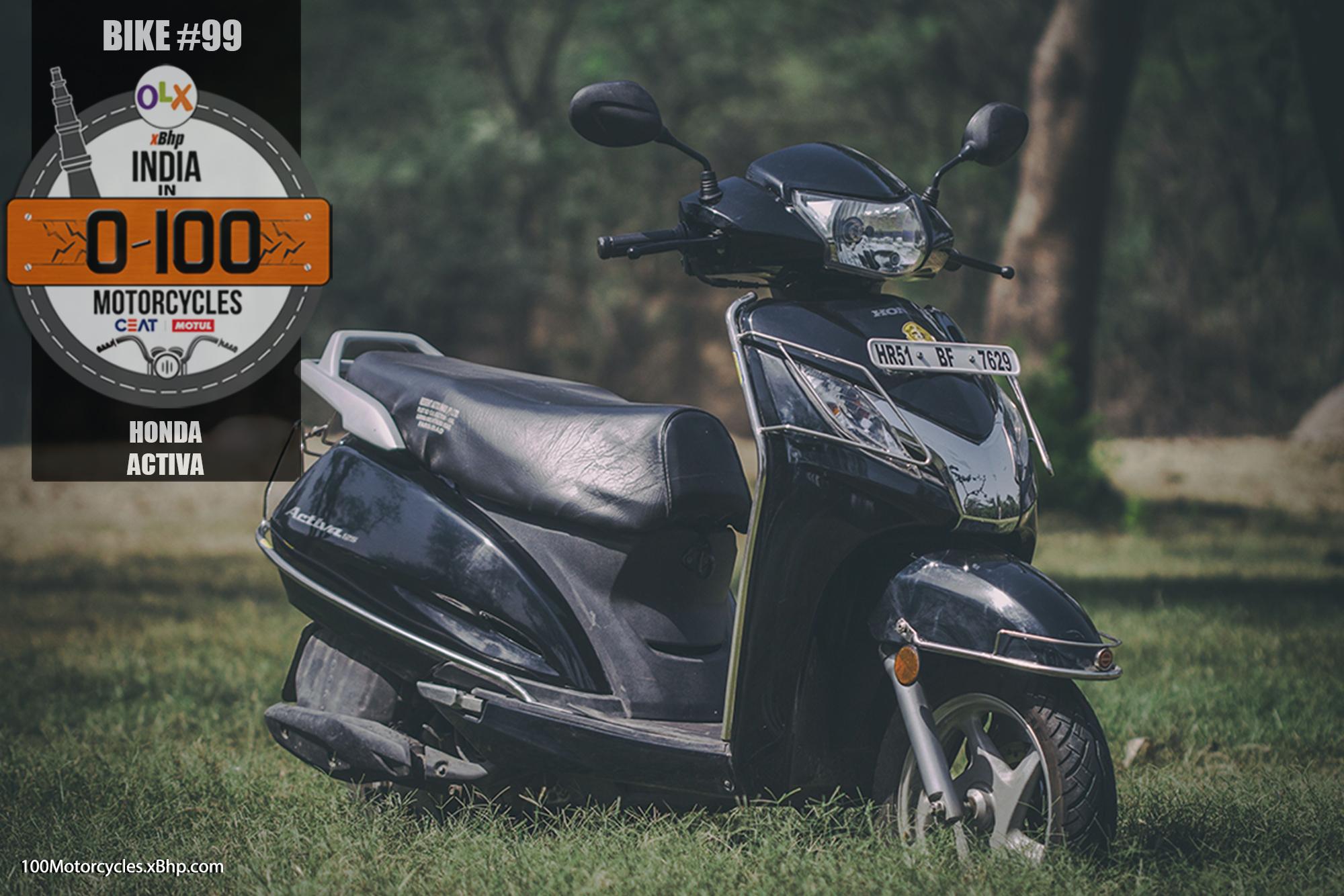 Bike #99: Honda Activa - Honda's Indian Jackpot - xBhp Presents