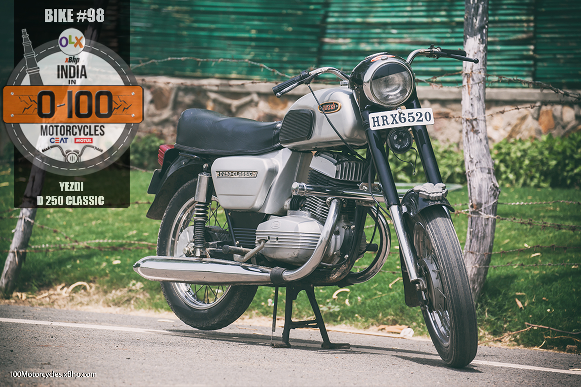 Bike #98: Yezdi D 250 Classic - Forever Bike, Forever Value! - 'OLX and xBhp Present India in 0 ...