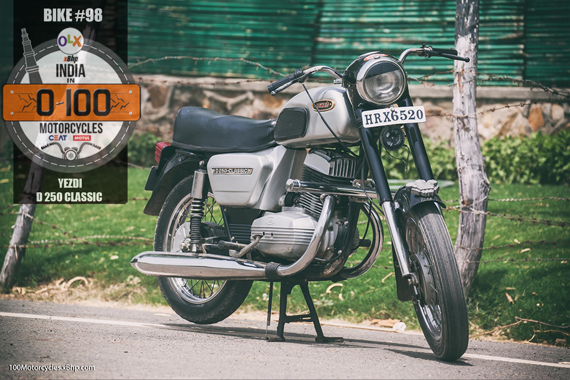 Bike #98: Yezdi D 250 Classic - Forever Bike, Forever Value